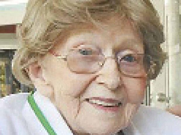 BUBBLES: Monica Guy, 105.