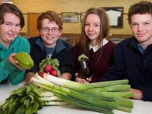 Teenagers and vegies
