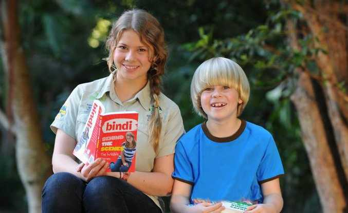 Bindi and Robert Irwin encourage other young readers to raise funds for wildlife during the Australia Zoo Wildlife Warriors Readathon (Monday 15 October - Thursday 15 November).