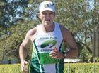Winner of the mens marathon Stan Fetting ( South Pine Striders) Toowoomba Marathon . Photo Nev Madsen / The Chronicle