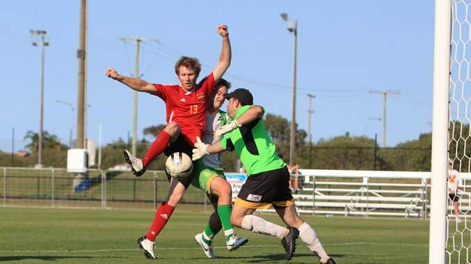 The Whitsunday Miners take on the Sunshine Coast Fire in the QSL grand final at Stockland Park, Kawana.
