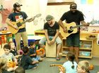 Busby Marou perform surprise concert for prep class