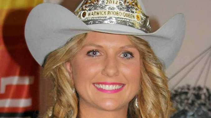 2012 Warwick Rodeo Queen Ella Waugh.