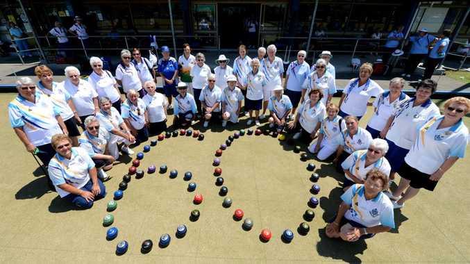 Ladies bowls club 60th anniversary. Photo: John Gass / Daily News