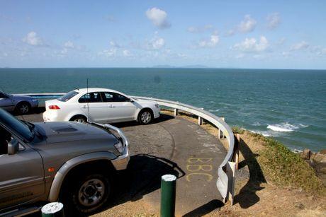Lamberts Beach lookout.