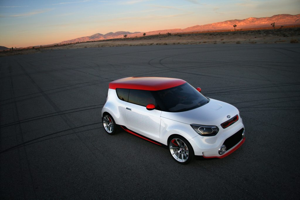 Kia's Track'ster concept car takes sporty to a new level.