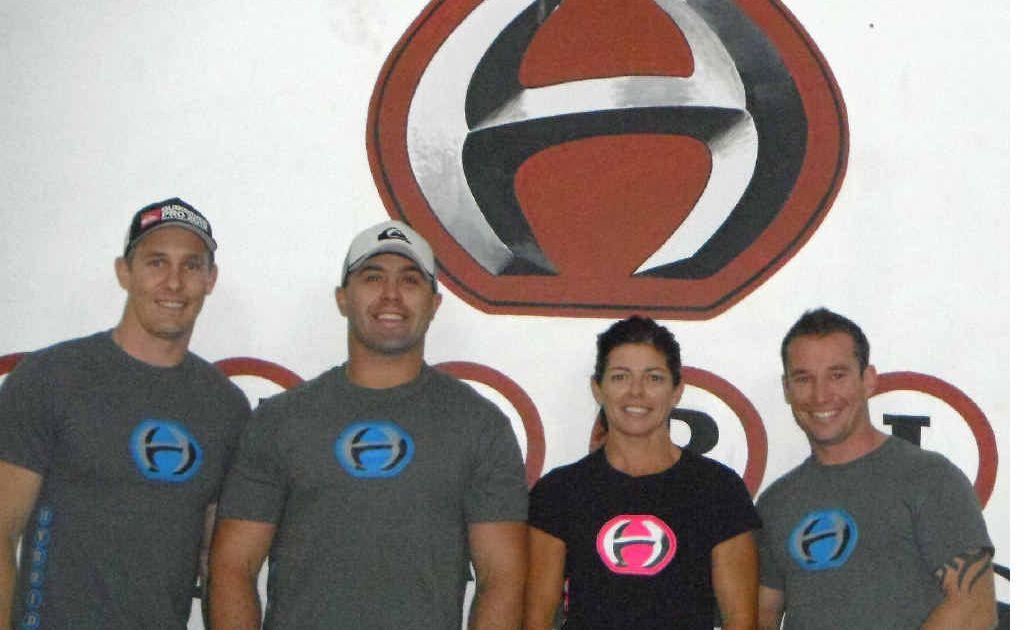 Shaun Davison, Nat Sewell, Jen Harley and Josh Nagle.