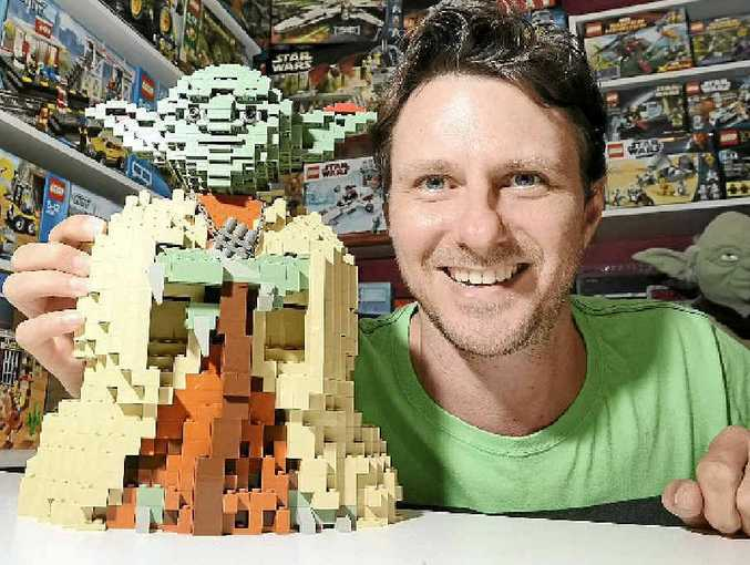 Tony Fischer gave up his day job to sell toys online from his Mudjimba home.