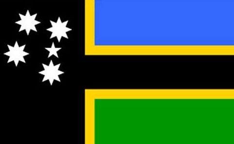 Australian South Sea islander flag.