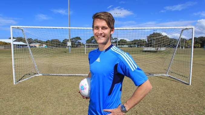 Sunshine Coast Fire FC Captain Tyson Holmes
