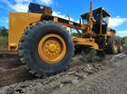 A Bundaberg Council grader repairing a section of road on the Isis Highway. Photo: Scottie Simmonds/NewsMail