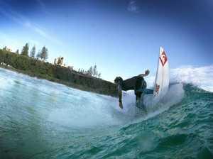 Surfer Jack Freestone in action