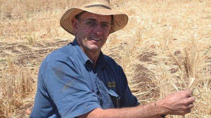 Roma grain and cattle producer Peter Thompson.