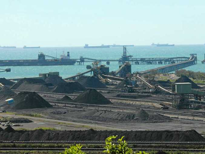 Coal ports like this one at Hay Point provide economic benefits, but residents from Mackay to Sarina are now being surveyed on another proposed port at Dudgeon Point.