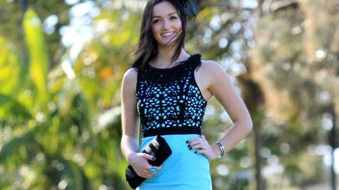Ruby Sayer, 17,  is dressed from head to toe by Go Girl at Mooloolaba.