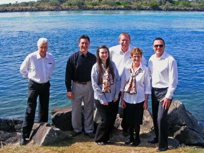 The team from LJ Hooker Coolangatta/Tweed.