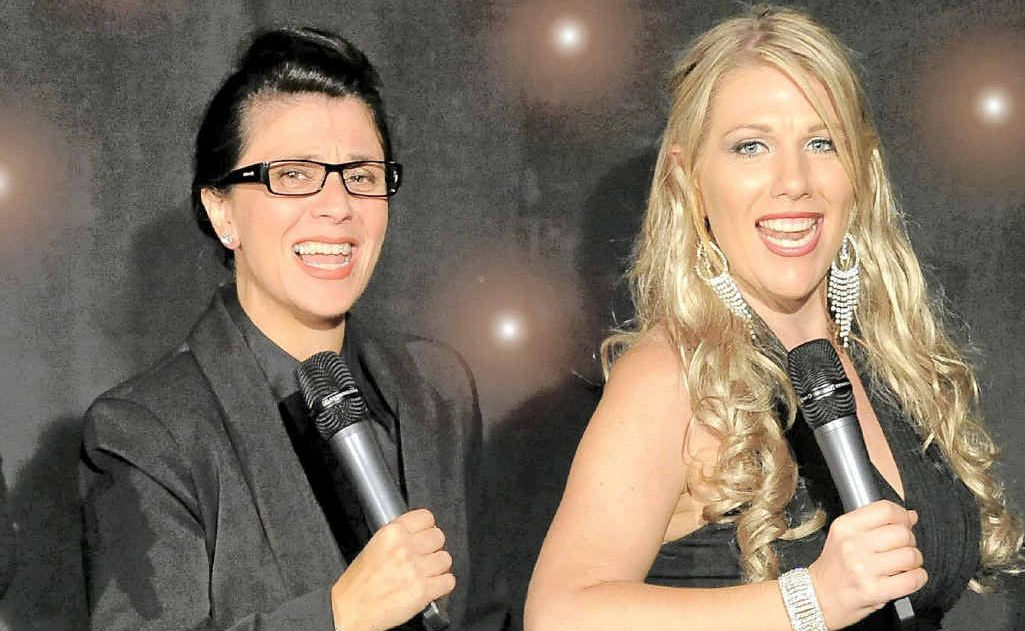 Francesca Arena and Paula Williams will perform two dates of Menopause the Musical in the Clarence Valley next week.
