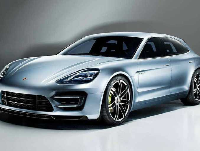 Porsche has plans to build a wagon based on the Panamera.