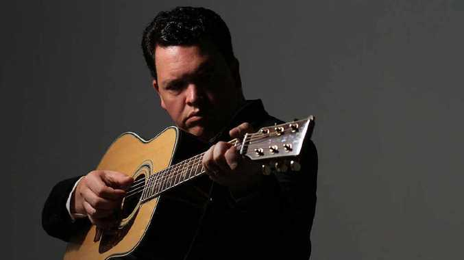 TRIBUTE SHOW: Daniel Thompson will perform at the Ipswich Civic Centre on Saturday.
