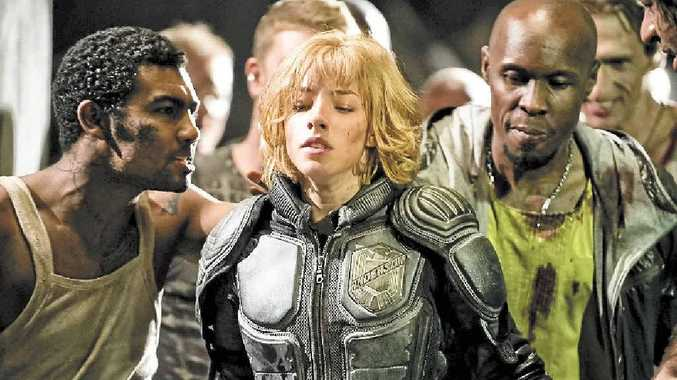 Olivia Thirlby stars as powerful psychic Cassandra Anderson in Dredd 3D.