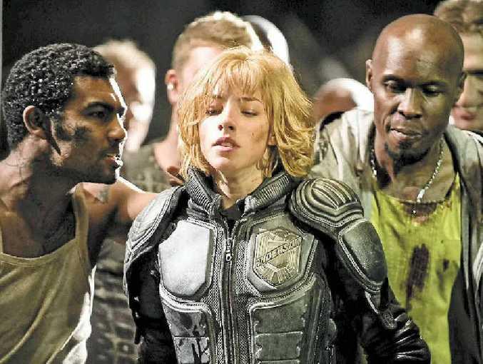 Olivia Thirlby stars as powerful psychic Cassandra Anderson in Dredd 3D.