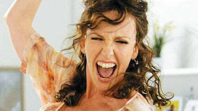 Toni Collette stars as foul-mouthed Shaz in Mental.