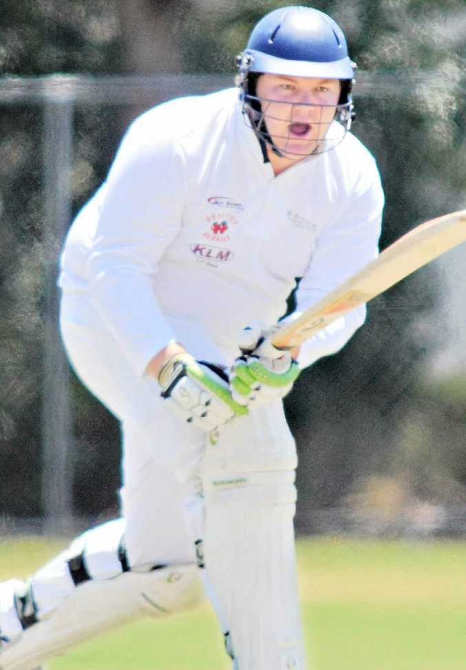 IN THE RUNS: Glasshouse Ranger Liam Moffett has delivered the goods again.