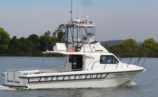 Volunteer Marine Rescue Mackay.