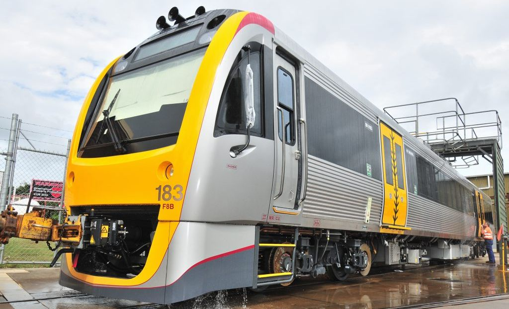 Trains on the Sunshine Coast line will be out of action again today.