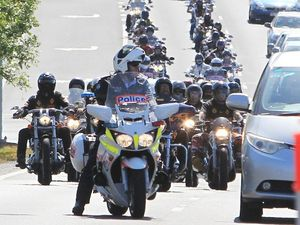 Anti-bikie law protests go international