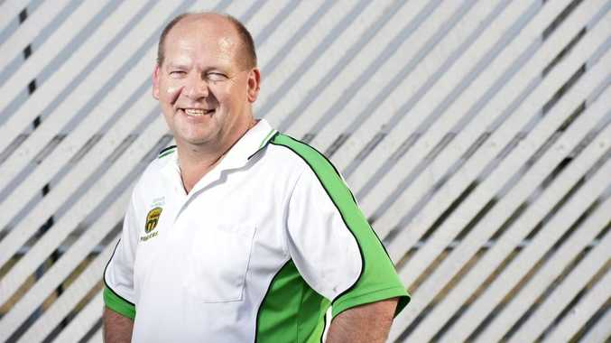 LONG TIME COMING: Peter Leschke from Ipswich Cricket.
