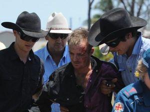 Jockey falls from horse at Torbanlea Picnic Races