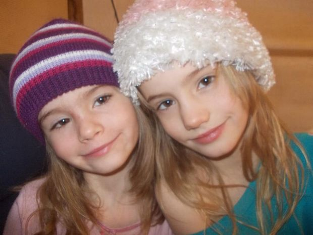 Lilu Grace (left) and Skye Rose Davies.