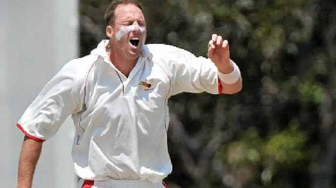 THE PAIN OF IT ALL: Scorchers paceman Matt Gale, a Queensland Bulls-contracted player, rues the one that got away.