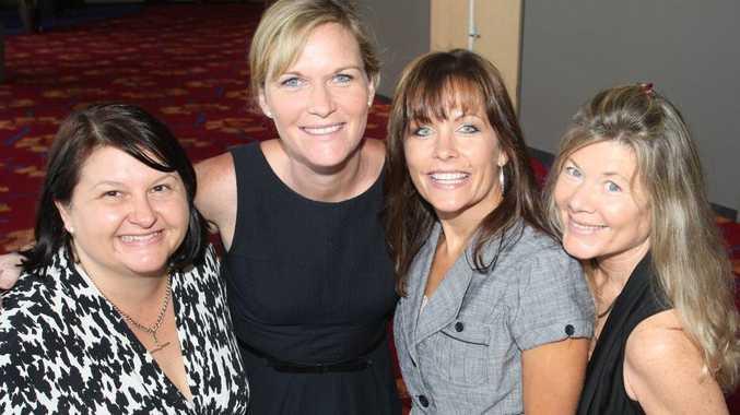 Mary-Ann, Maya, Donna and Melinda at Maroochy Chamber Networking Breakfast