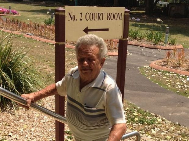 Giovanni Mello, 81, is facing court charged with dangerous operation of a vehicle after crashing into two picket fences in Maryborough in one day. Mr Mello almost got thrown in jail when he insulted a magistrate.