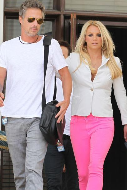 Britney Spears and her fiance, Jason Trawick.