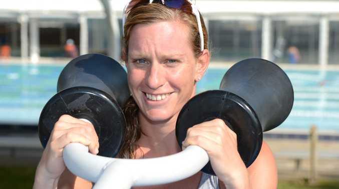 Caroline Steffen will be competing in the Noosa Triathlon.