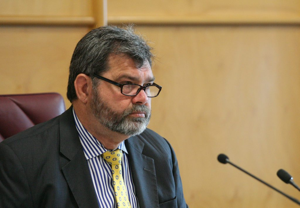 Queensland's former Chief Justice Tim Carmody was forced to resign earlier this year.