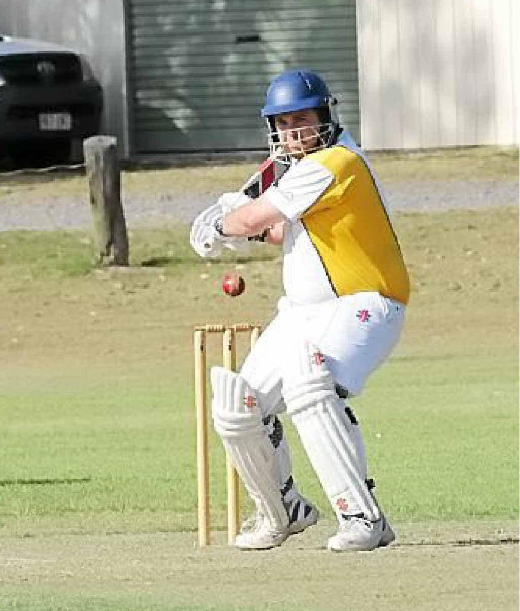 Bowler and batsman Shane Zahner had a hard-working weekend for Harlequins.
