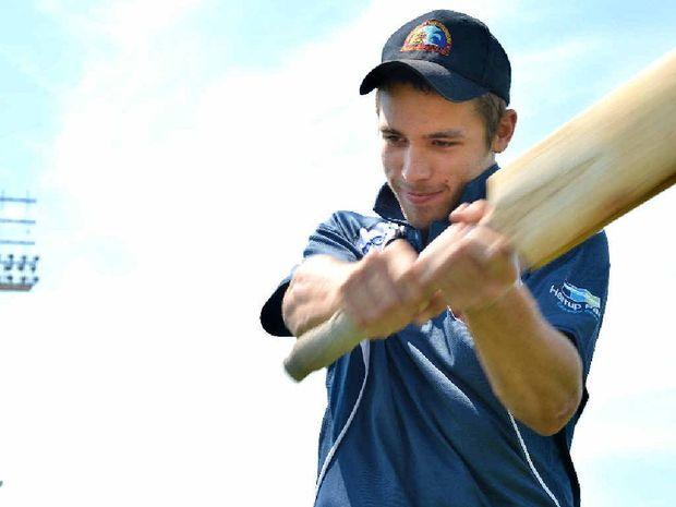 Cricketer Joel Bruun joined an elite club over the weekend.