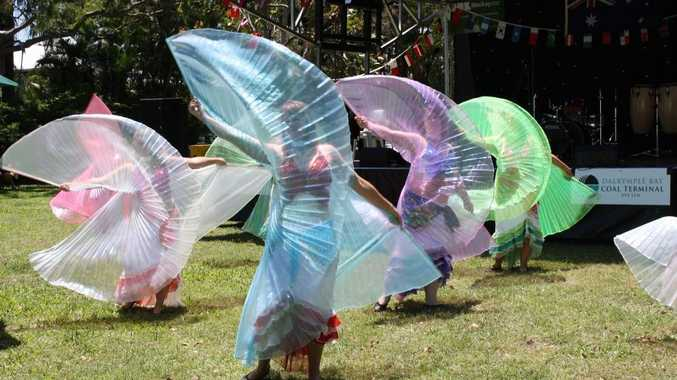 Dancers performing at last year's Global Grooves Festival.