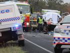 Scenes like this are becoming too familiar on the Bruce Highway which has claimed 20 lives in Central Queensland this year.