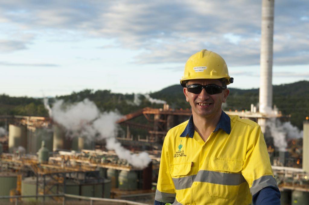 Yarwun 2 construction general manager David Yeoman.