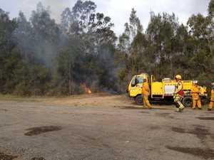 Bushfire in Toogoom