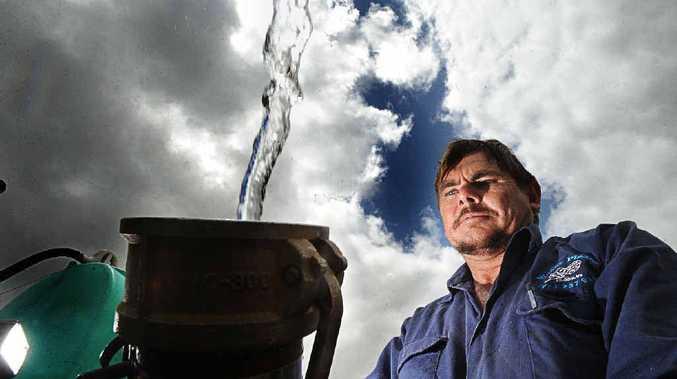 IN DEMAND: Water Please owner Glen Mooney is helping to keep rainwater tanks filled across Lismore.
