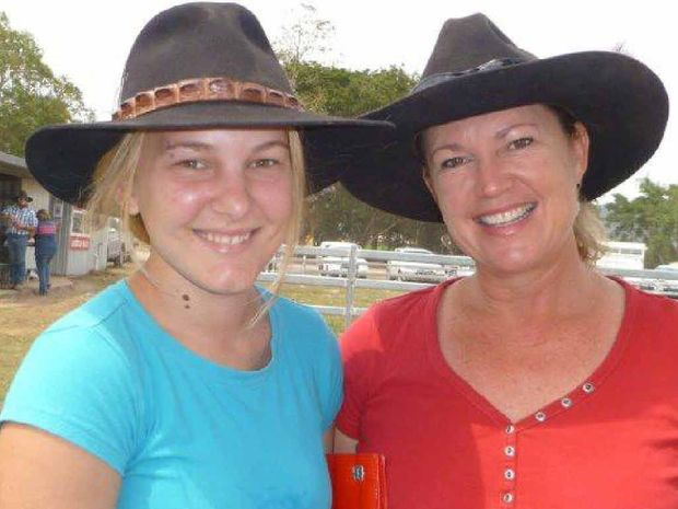 Koumala resident Rowena Colgrave attended the Sarina sale with niece Gracie Cameron, (left) who was visiting from Townsville.