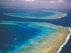 US jets drop unarmed bombs on reef park in emergency