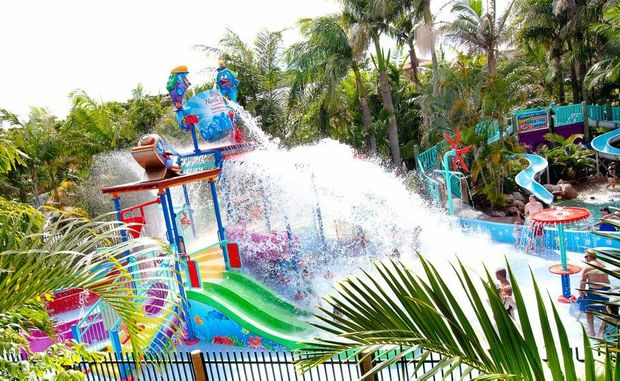 The water park at the BIG4 North Star Holiday Park Photo Contributed