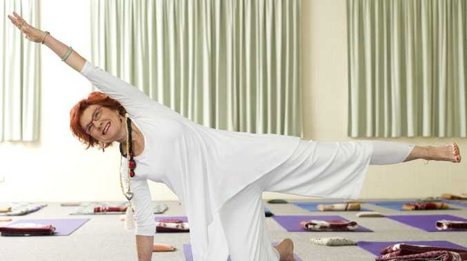 72-year-old Lesleigh Camm has been practicing yoga for 50 years.